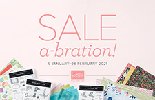 Sale-a-bration! Jan-Feb 2021